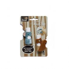 Set of 2 Bread Bag Clips Mouse & Squirrel